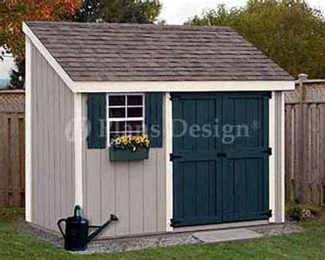 4 x 10 shed 4 x 10 storage utility garden shed building plans