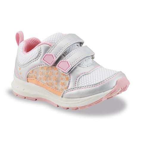 carter s light up shoes carter 39 s 39 s brady silver pink orange light up