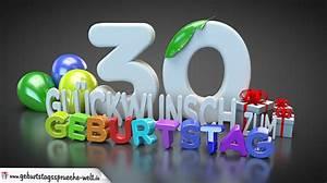 30 Dinge Zum 30 Geburtstag : edle geburtstagskarte mit bunten 3d buchstaben zum 30 geburtstag geburtstagsspr che welt ~ Bigdaddyawards.com Haus und Dekorationen