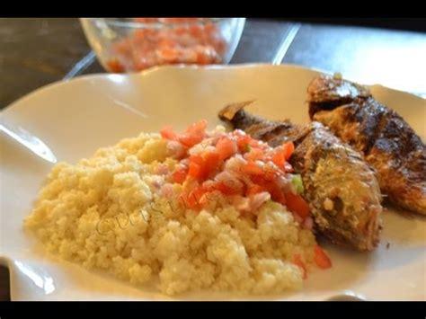 cuisine ivoirienne en recette du attieke poisson cuisine ivoirienne how o