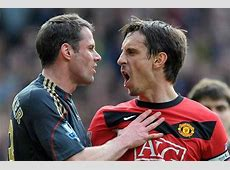 Jamie Carragher Forced To Wear Gary Neville's Man United