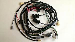 1968 Camaro Forward Front Light Wiring Harness Warning