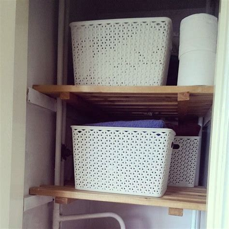 Cupboard Tidy by My Tidy Organised Airing Cupboard Thanks To These