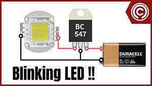 Led Blinking Circuit