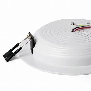 Petite Led Encastrable : spot encastrable ted led blanc 3000k 18cm salle de bain faro ~ Edinachiropracticcenter.com Idées de Décoration