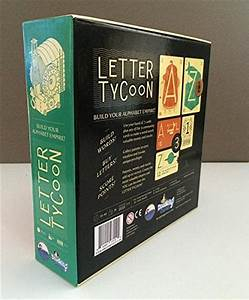 letter tycoon board game nerdplaythingscom toys and With letter tycoon game