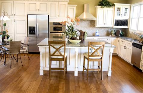 white cabinets with wood floors kitchen cabinets ht floors and remodel 762 | contact ht floors and remodel