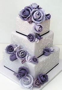 25+ best Pastel blue square shaped wedding cakes ideas on ...