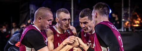 Latvija nosauc četrus 3x3 komandas spēlētājus, kas gatavojas doties uz Tokijas Olimpiskajām ...