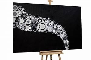 Leinwand Xxl Kaufen : xxl lbild schwarz wei auf leinwand kaufen kunstloft ~ Whattoseeinmadrid.com Haus und Dekorationen