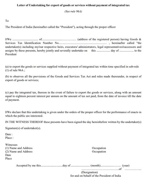 100 letter of indemnity sle best letter of
