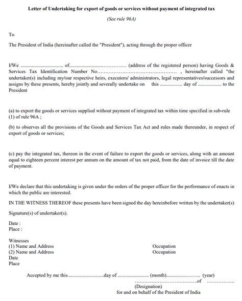 bond  lut  export  gst complete procedure step