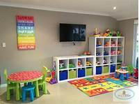 toy room ideas Awesome playroom cheap, colourful, organised, open. Love ...