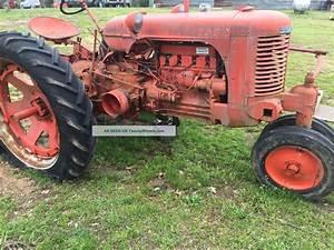 1949 Case Sc Antique Tractor For Resto