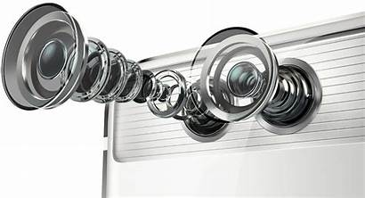 P9 Camera Huawei Smartphone Dual Exploded Lenses
