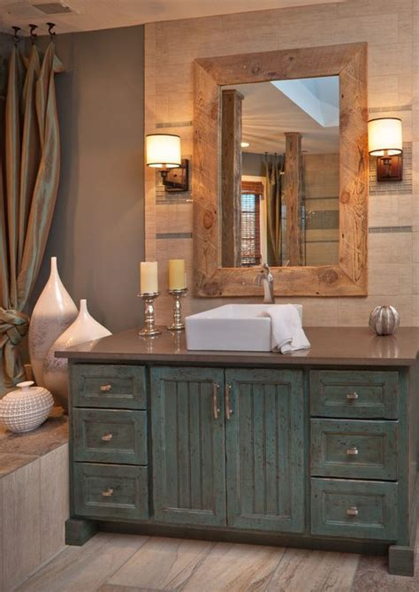 country master bathroom ideas 34 rustic bathroom vanities and cabinets for a cozy touch