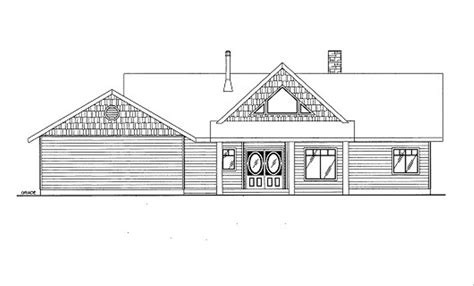 Bungalow Style House Plan 3 Beds 2 Baths 3304 Sq/Ft Plan