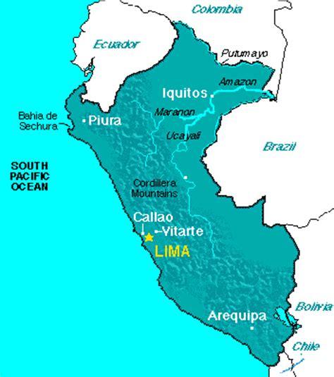 ABC Maps of Peru; Peru Flag, Peru Map, Peru Economy, Peru ...