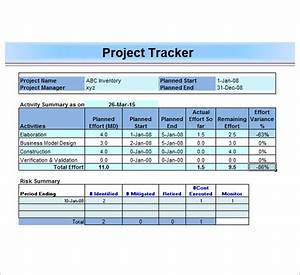 project management template 12 download free documents With project management tracking document