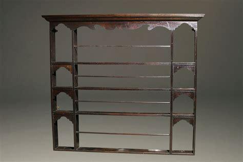english oak plate rack