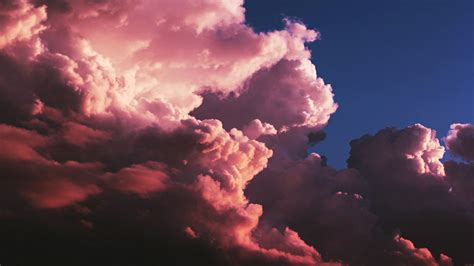 pink clouds aesthetic wallpapers