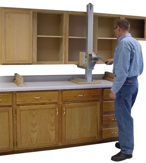 how to install upper cabinets the original gillift cabinet lift kit by telpro