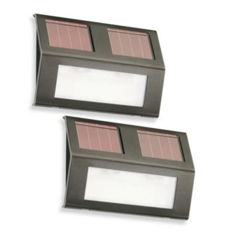 Buy Solar Step Lights From Bed Bath Beyond