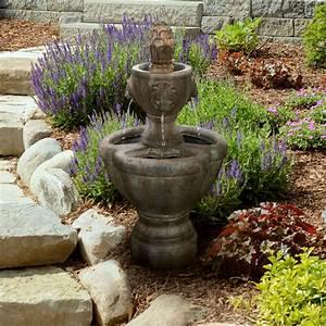Pure, Garden, Lion, Head, Outdoor, Fountain