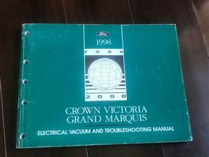 1998 Ford Crown Victoria Grand Marquis Wiring Diagrams