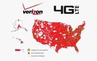 Verizon 4G Coverage Map