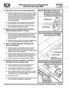 8546 Explorer Spotlight Installation Instructions  Pdf Copy
