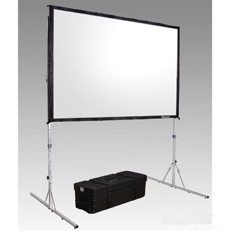 ecran projection sur pied ecran de projection fast fold 400x300cm ml locations