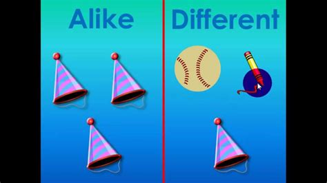 What Are Alike and Different - YouTube