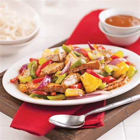cuisine porc porc aigre doux à l 39 ananas recettes cuisine et