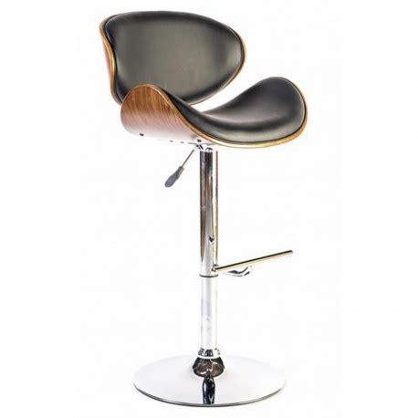 chaise mange debout chaise haute design avec dossier en bois pour mange debout
