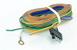 Boat Or Utility Trailer Light Wiring Harness Standard 5