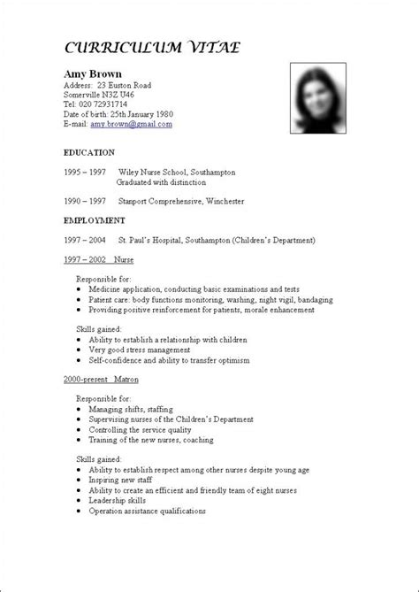 How To Write Your Cv Exles by 18 Best Images About How To Write A Cv On