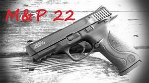 Smith  U0026 Wesson M U0026p 22 Pistol Review