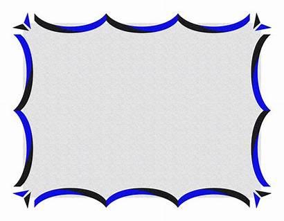 Border Borders Certificate Template Designs Word Cool
