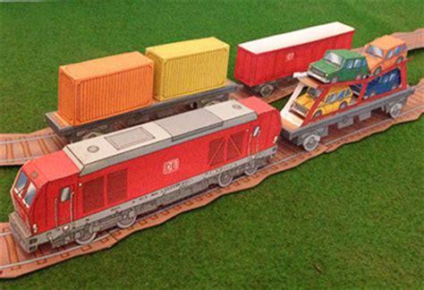 olis bahnwelt bastel dir deinen eigenen gueterzug mit container und autotransportwagen jetzt