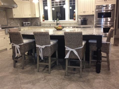 Upholstered Kitchen Stools by Best Upholstered Counter Stools Loccie Better Homes