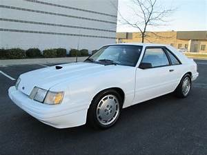 1986 FORD MUSTANG SVO TURBO 5 SPEED WHITE RARE FIND WELL MAINTAINED RUNS GREAT for sale: photos ...