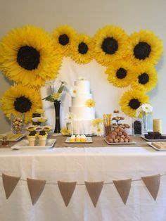 10+ Stunning Sunflower Party Design Ideas For Your Wedding