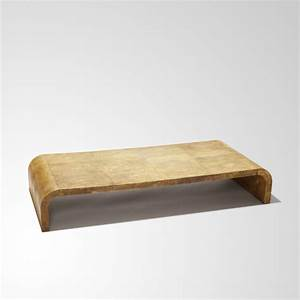 Gallery BAC Low coffee table with inverted U form in