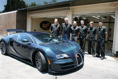 Look What Rolled Into Our Garage Today....bugatti Veyron