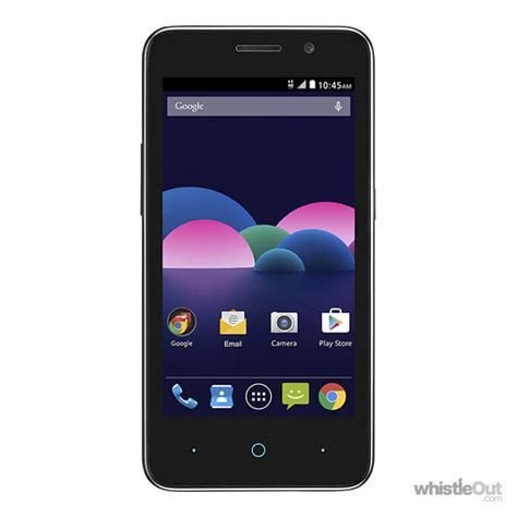 zte cell phone zte obsidian compare prices plans deals whistleout