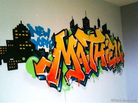 chambre ado swag prnom graffiti tags dco graff dcoration tag