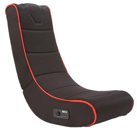 black series foldable gaming chair  onboard speakers