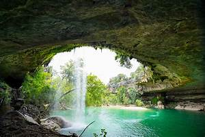 Hamilton Pool In The Summer Colors Texas Image Library