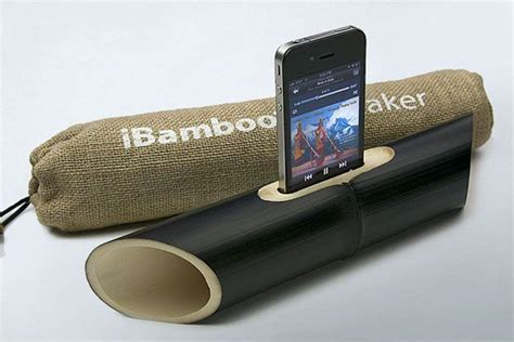 ibamboo speaker dock gadgets ideas inventions cool